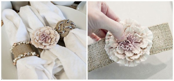 Best ideas about DIY Napkin Rings For Weddings . Save or Pin 30 Easy Wedding Projects for DIY Brides Personal Now.