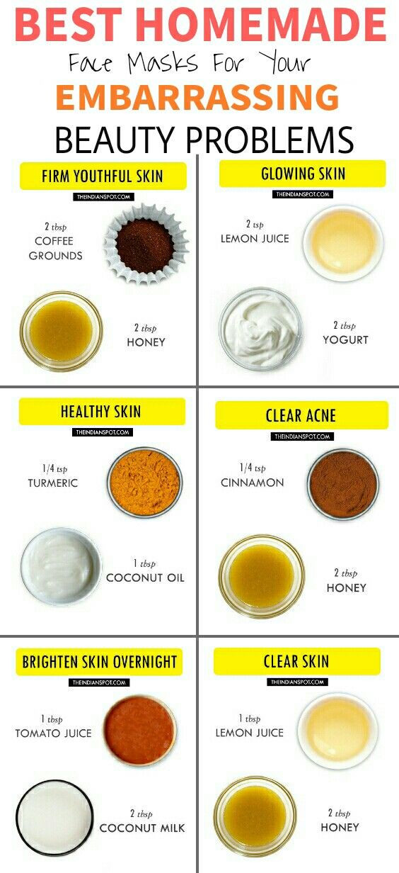 Best ideas about DIY Natural Face Mask . Save or Pin 11 Amazing DIY Hacks For Your Embarrassing Beauty Problems Now.