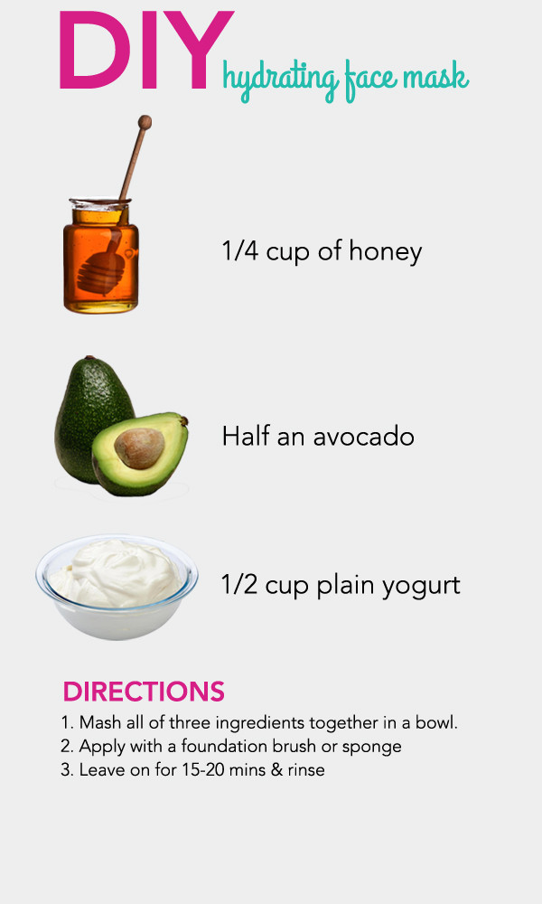 Best ideas about DIY Natural Face Mask . Save or Pin DIY Hydrating Face Mask s and for Now.