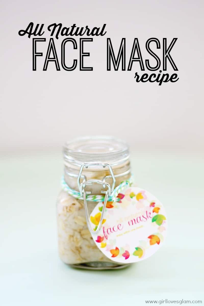 Best ideas about DIY Natural Face Mask . Save or Pin Homemade All Natural Face Mask Girl Loves Glam Now.
