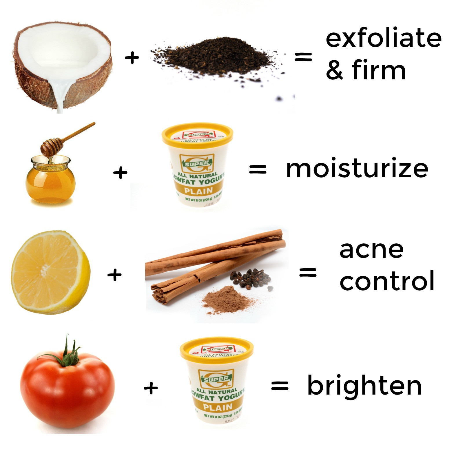 Best ideas about DIY Natural Face Mask . Save or Pin 2 Ingre nt D I Y Face Masks for Every Skin Type Now.