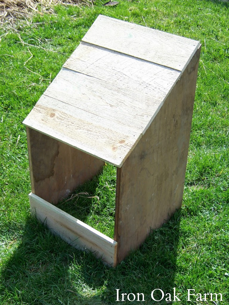 Best ideas about DIY Nest Box . Save or Pin DIY Turkey Nest Box Now.