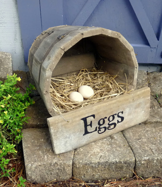 Best ideas about DIY Nest Box . Save or Pin DIY Wine Barrel Nesting Box Now.