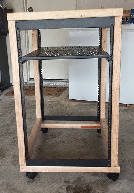 Best ideas about DIY Network Rack . Save or Pin DIY Server Rack Plans Now.