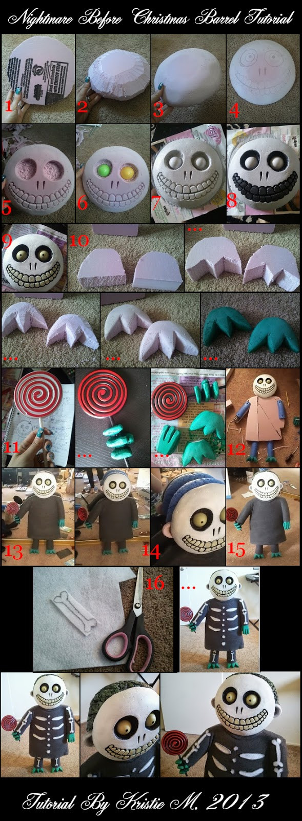 Best ideas about DIY Nightmare Before Christmas . Save or Pin DIY Nightmare Before Christmas Halloween Props Nightmare Now.