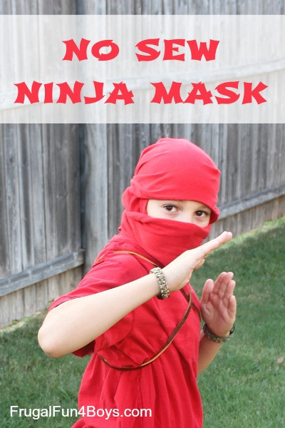 Best ideas about DIY Ninja Mask . Save or Pin How to Turn a T Shirt into a Ninja Mask With no cutting Now.