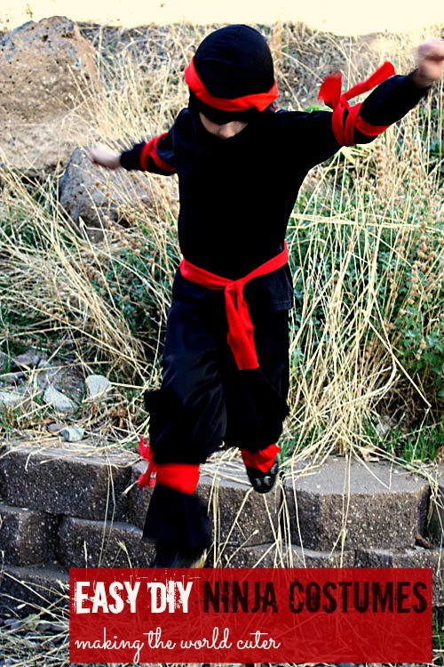 Best ideas about DIY Ninja Mask . Save or Pin 25 Creative DIY Costumes for Boys Now.