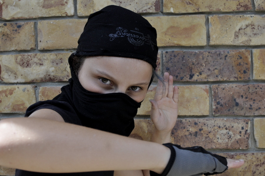 Best ideas about DIY Ninja Mask . Save or Pin Turn a T Shirt Into a Ninja Mask – Be A Fun Mum Now.