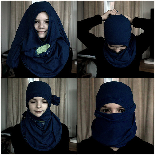 Best ideas about DIY Ninja Mask . Save or Pin how to make a ninja mask Now.