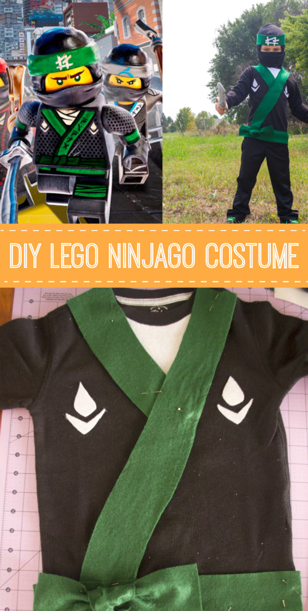 Best ideas about DIY Ninja Mask . Save or Pin DIY LEGO Ninjago Costume Now.