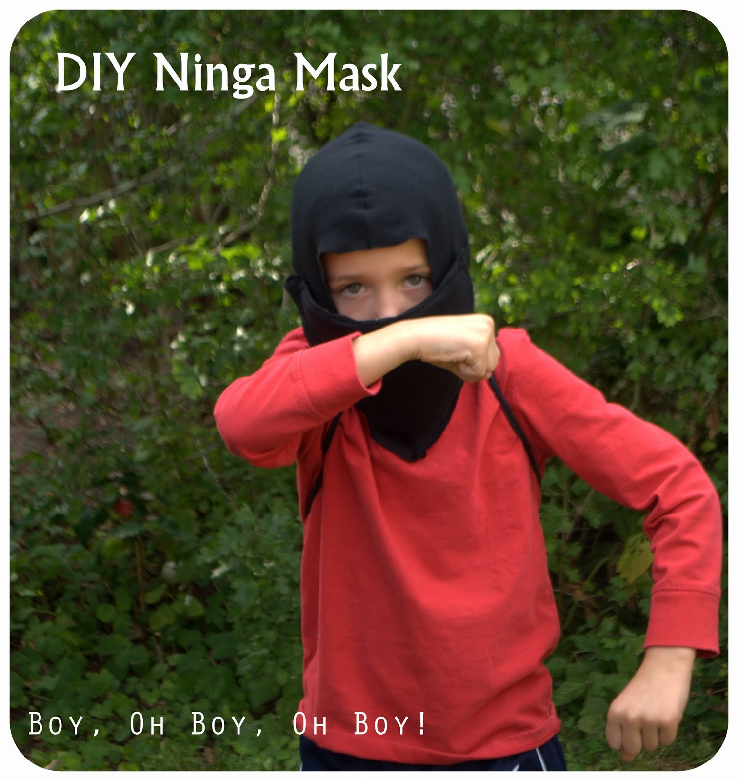 Best ideas about DIY Ninja Mask . Save or Pin DIY Ninja Mask Beatnik Kids Now.
