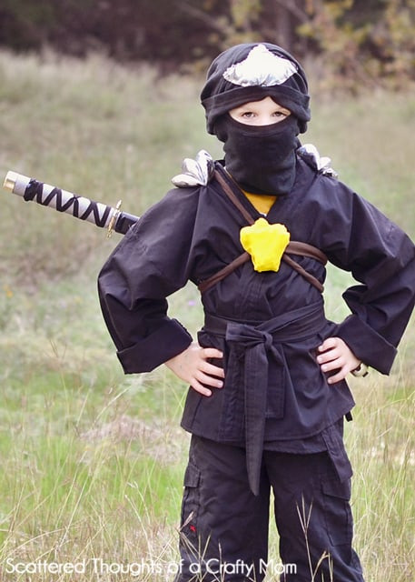 Best ideas about DIY Ninja Mask . Save or Pin Last Minute DIY Halloween Costumes Made by you Monday Now.