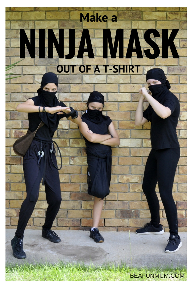 Best ideas about DIY Ninja Mask . Save or Pin Turn a T Shirt Into a Ninja Mask Now.
