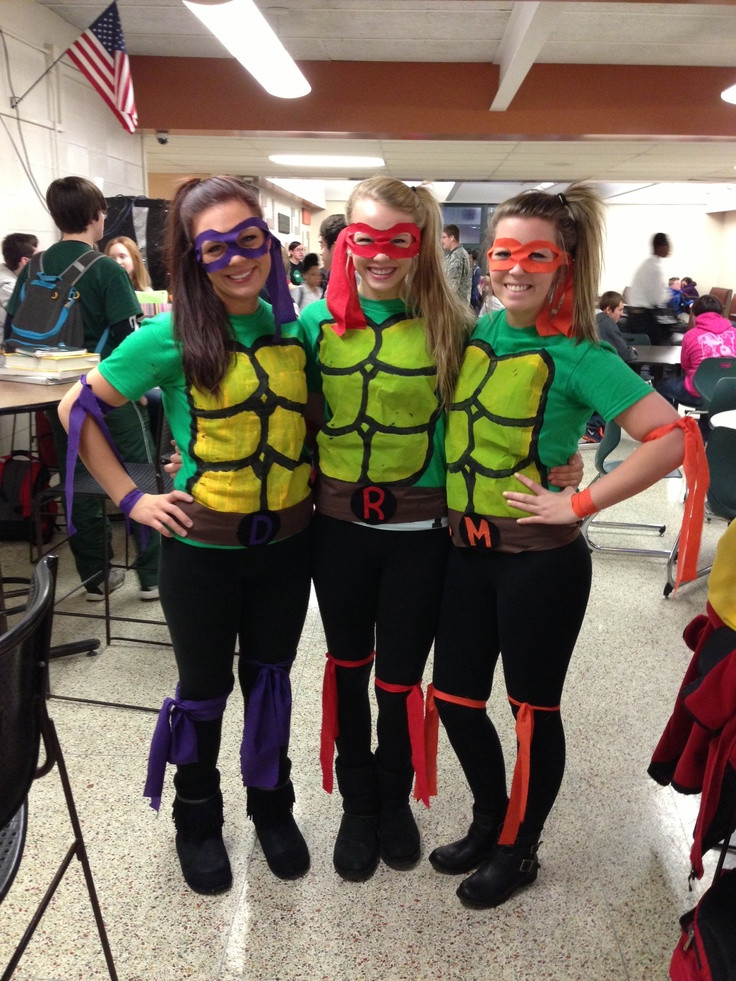 Best ideas about DIY Ninja Turtle Costumes . Save or Pin Super easy homemade Teenage Mutant Ninja Turtles costumes Now.
