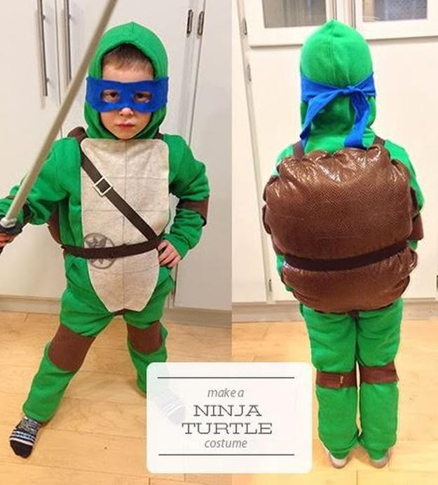 Best ideas about DIY Ninja Turtle Costumes . Save or Pin 15 DIY Ninja Turtle Costume Ideas Cowabunga DIY Ready Now.