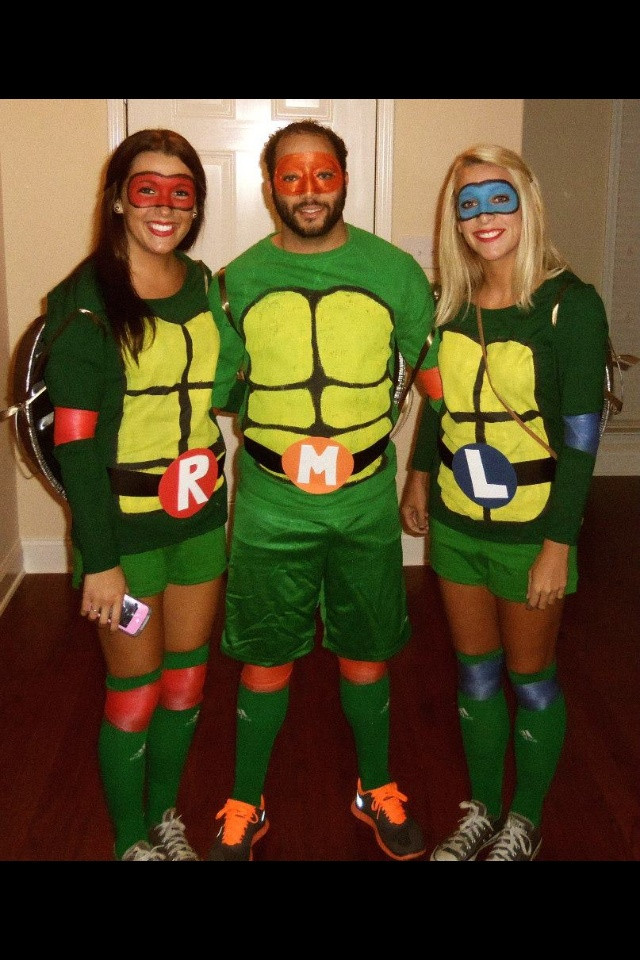 Best ideas about DIY Ninja Turtle Costumes . Save or Pin DIY Ninja Turtle Costumes for under $30 BigDIYIdeas Now.