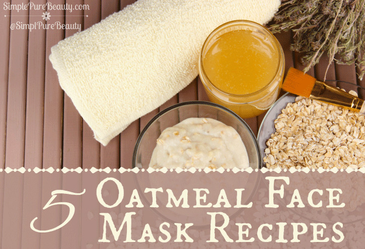 Best ideas about DIY Oatmeal Mask . Save or Pin 5 Homemade Oatmeal Mask Recipes Simple Pure Beauty Now.