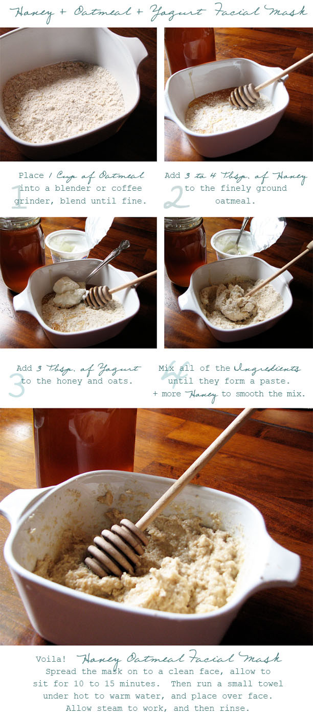 Best ideas about DIY Oatmeal Mask . Save or Pin Joy of Giving DIY Honey Oatmeal Facial Mask Now.