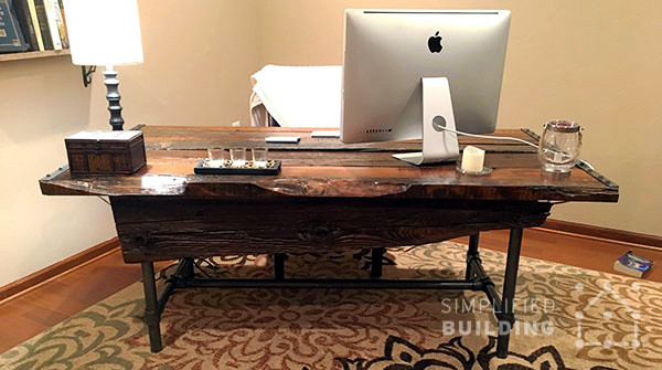 Best ideas about DIY Office Desks . Save or Pin DIY Rustic Desk Plans to Build Your Own Now.