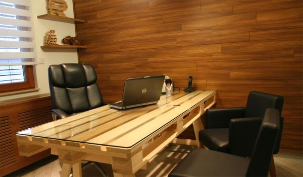 Best ideas about DIY Office Desks . Save or Pin DIY Pallet fice Desk GOODIY Now.