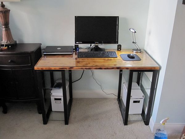 Best ideas about DIY Office Desks . Save or Pin 20 DIY Desks That Really Work For Your Home fice Now.