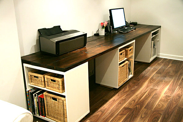 Best ideas about DIY Office Desks . Save or Pin 18 DIY Desks to Enhance Your Home fice Now.