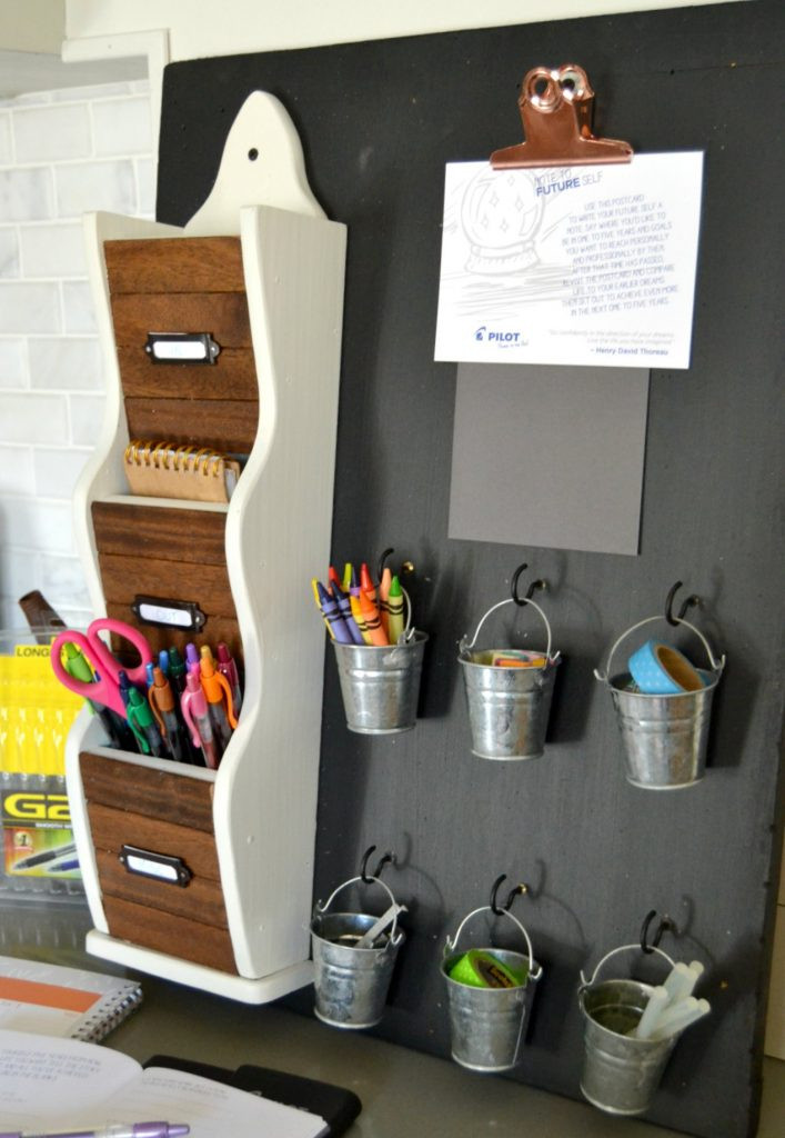 Best ideas about DIY Office Organizers . Save or Pin DIY Desk Organizer To Make Your Work Flow A Lot Smoother Now.