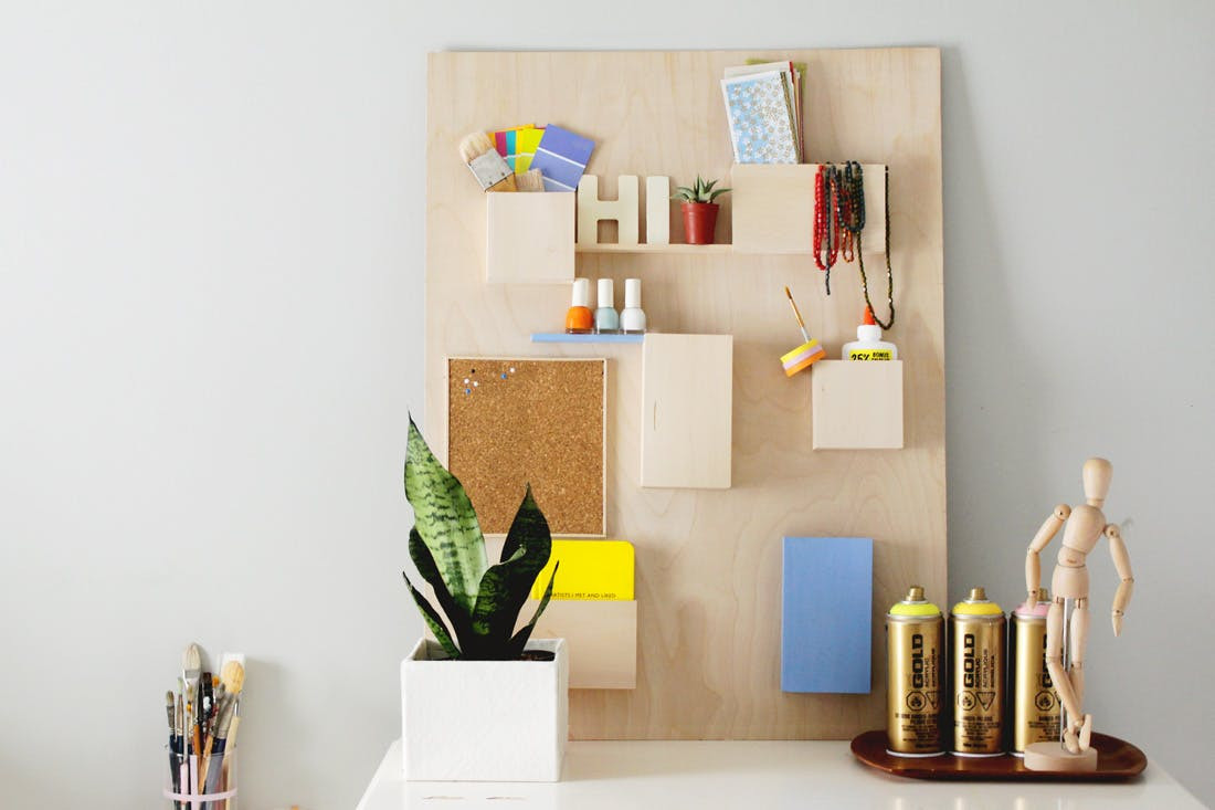 Best ideas about DIY Office Organizers . Save or Pin DIY This $328 Anthropologie Wall Organizer for Less Than Now.