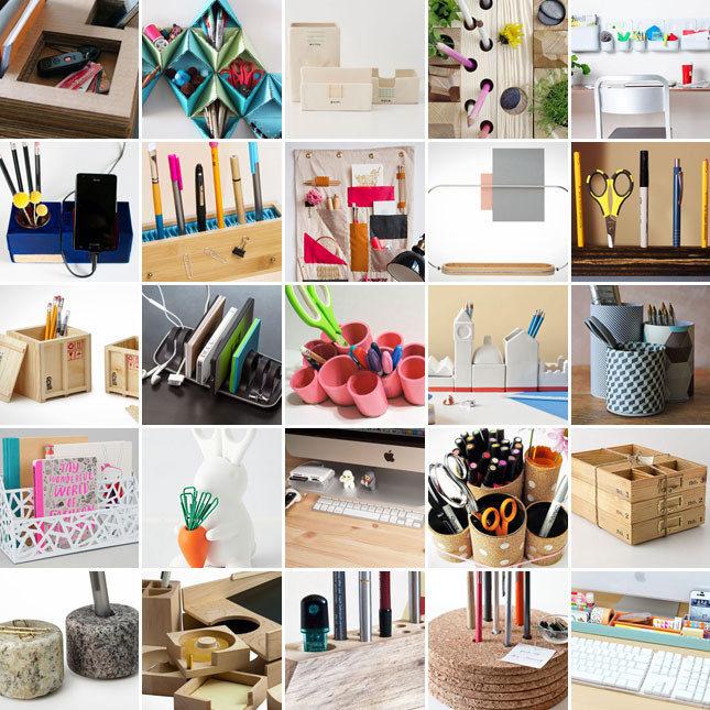 Best ideas about DIY Office Organizers . Save or Pin Wonderful DIY Recycled Stationary Organizer Now.