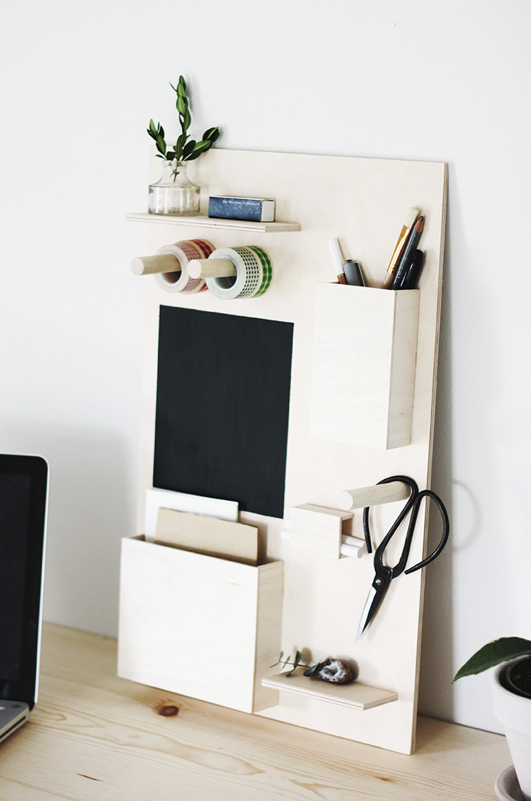 Best ideas about DIY Office Organizers . Save or Pin DIY Desk Organizer The Merrythought Now.