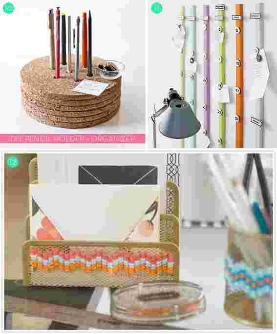 Best ideas about DIY Office Organizers . Save or Pin Roundup 15 DIY fice Storage and Organization Ideas Now.