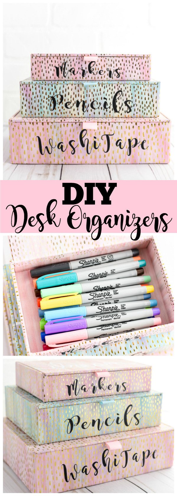 Best ideas about DIY Office Organizers . Save or Pin DIY Desk Organizers Now.