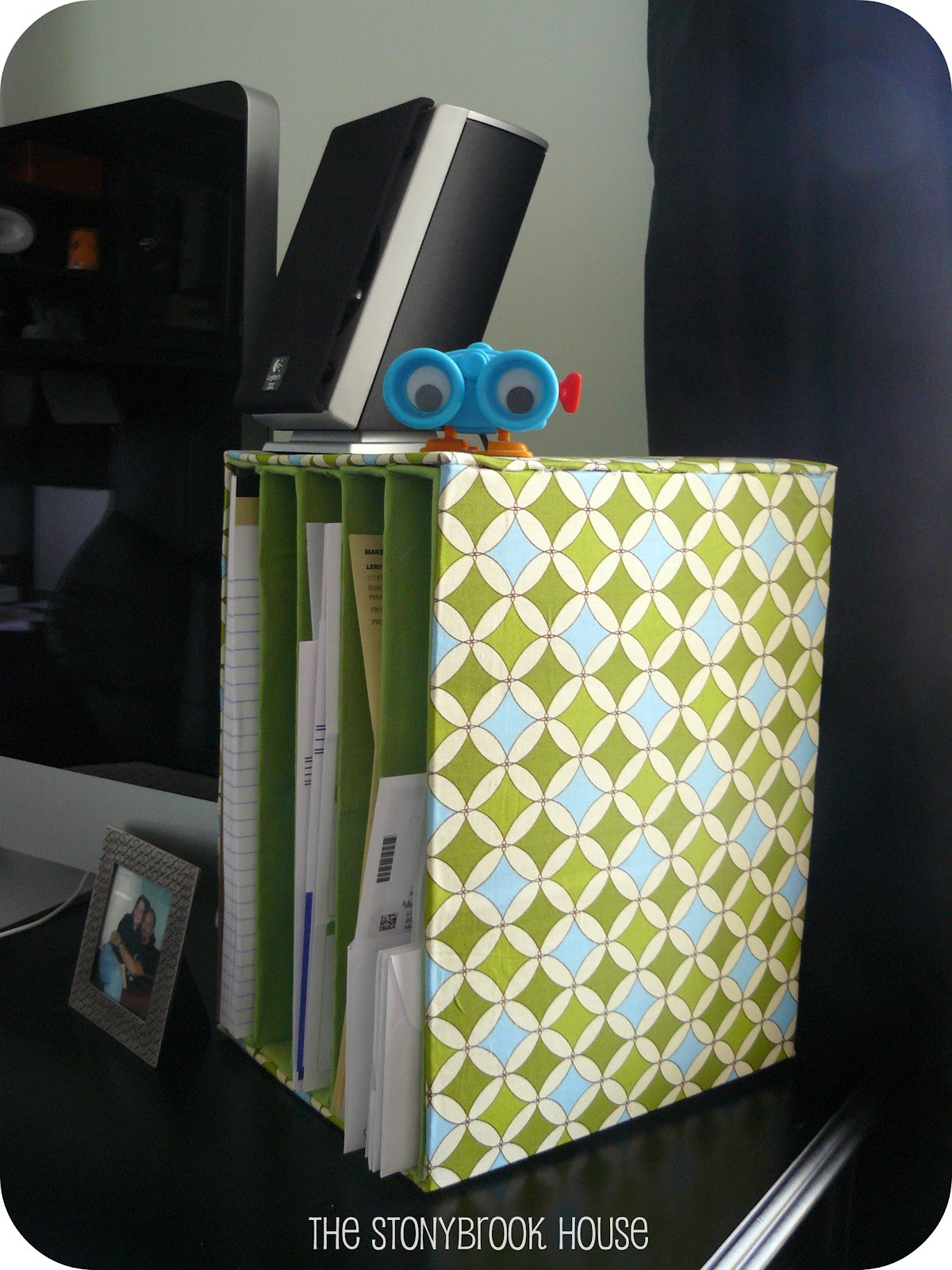Best ideas about DIY Office Organizers . Save or Pin Mail Organizer DIY The Cheap The Stonybrook House Now.