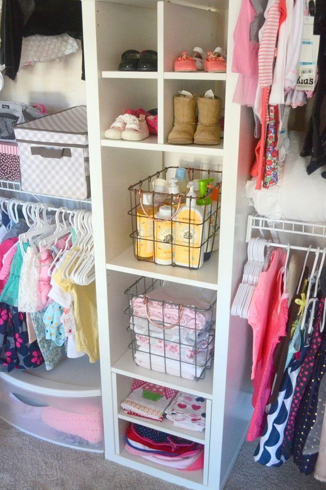Best ideas about DIY Organize Closet . Save or Pin DIY Nursery Closet Organization Now.
