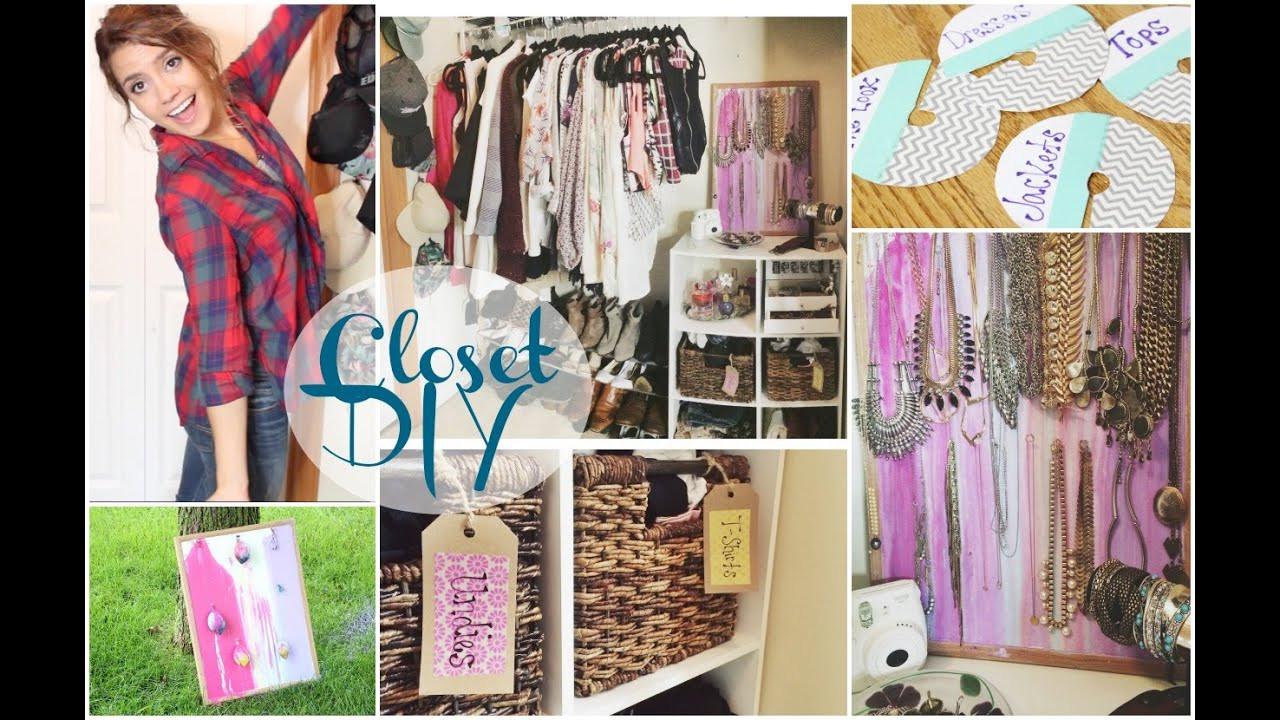 Best ideas about DIY Organize Closet . Save or Pin DIY Closet Organization Now.