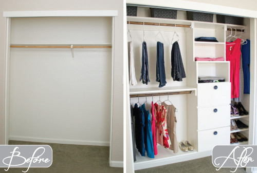 Best ideas about DIY Organize Closet . Save or Pin DIY Closet Kit for Under $50 Now.