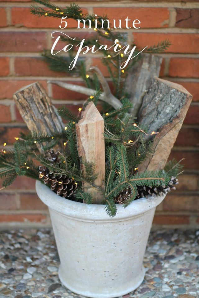 Best ideas about DIY Outdoor Christmas Decorations . Save or Pin 27 Cheerful DIY Christmas Decoration Ideas You Should Look Now.