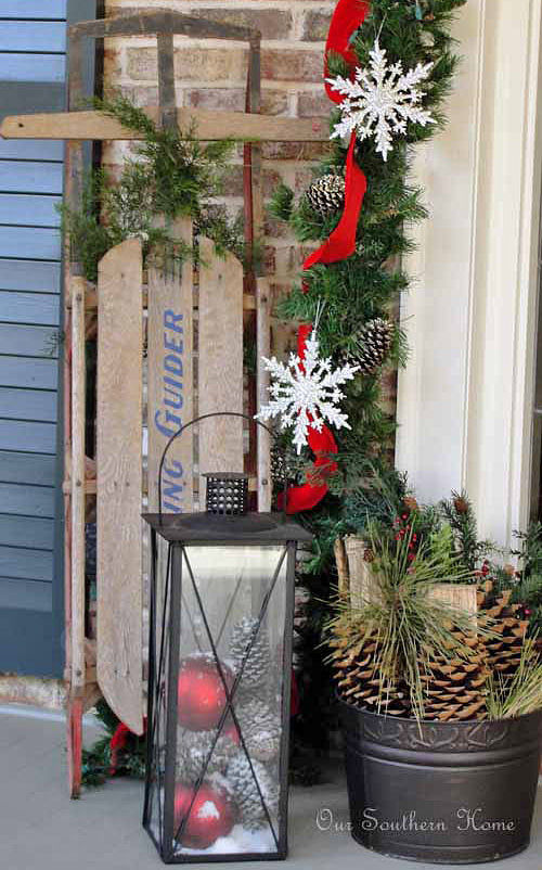Best ideas about DIY Outdoor Christmas Decorations . Save or Pin DIY Outdoor Christmas Decorating Now.