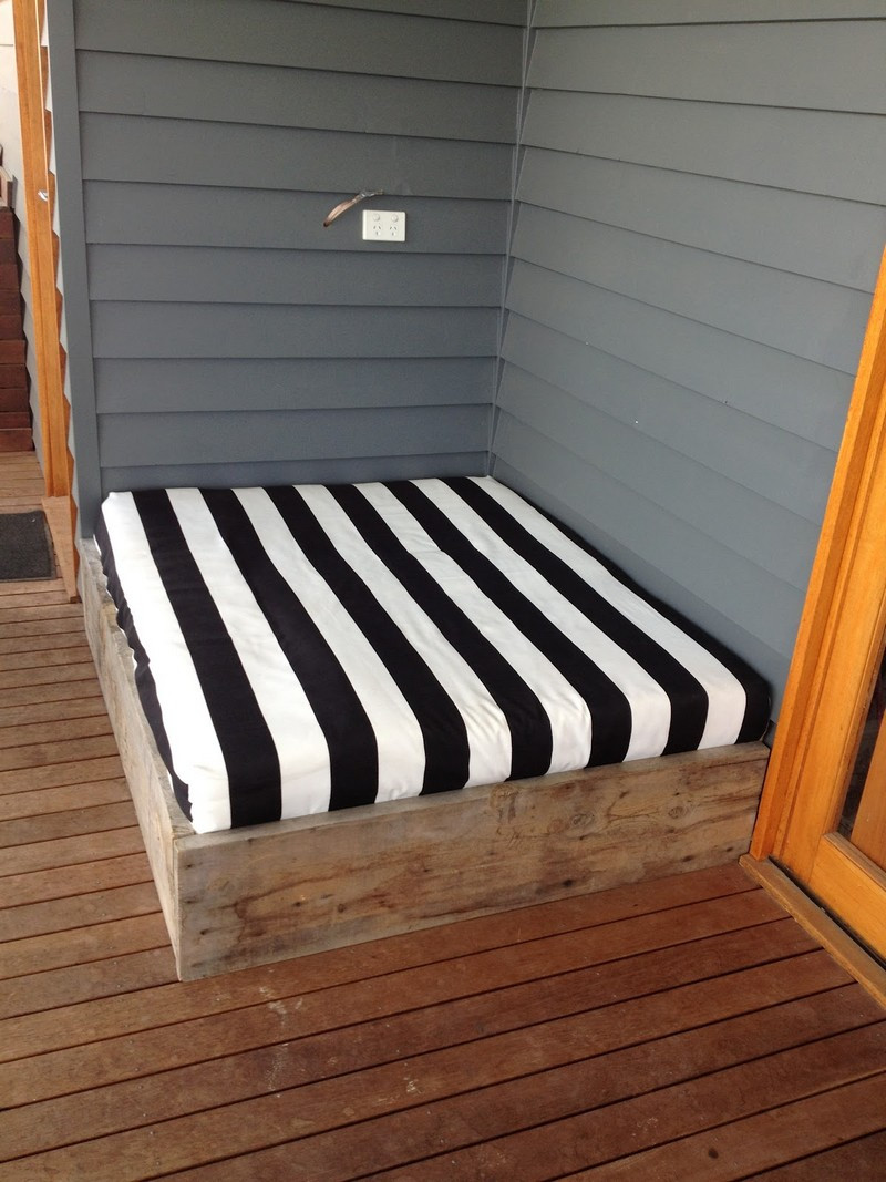 Best ideas about DIY Outdoor Daybed . Save or Pin Make a day bed from reclaimed timber Now.