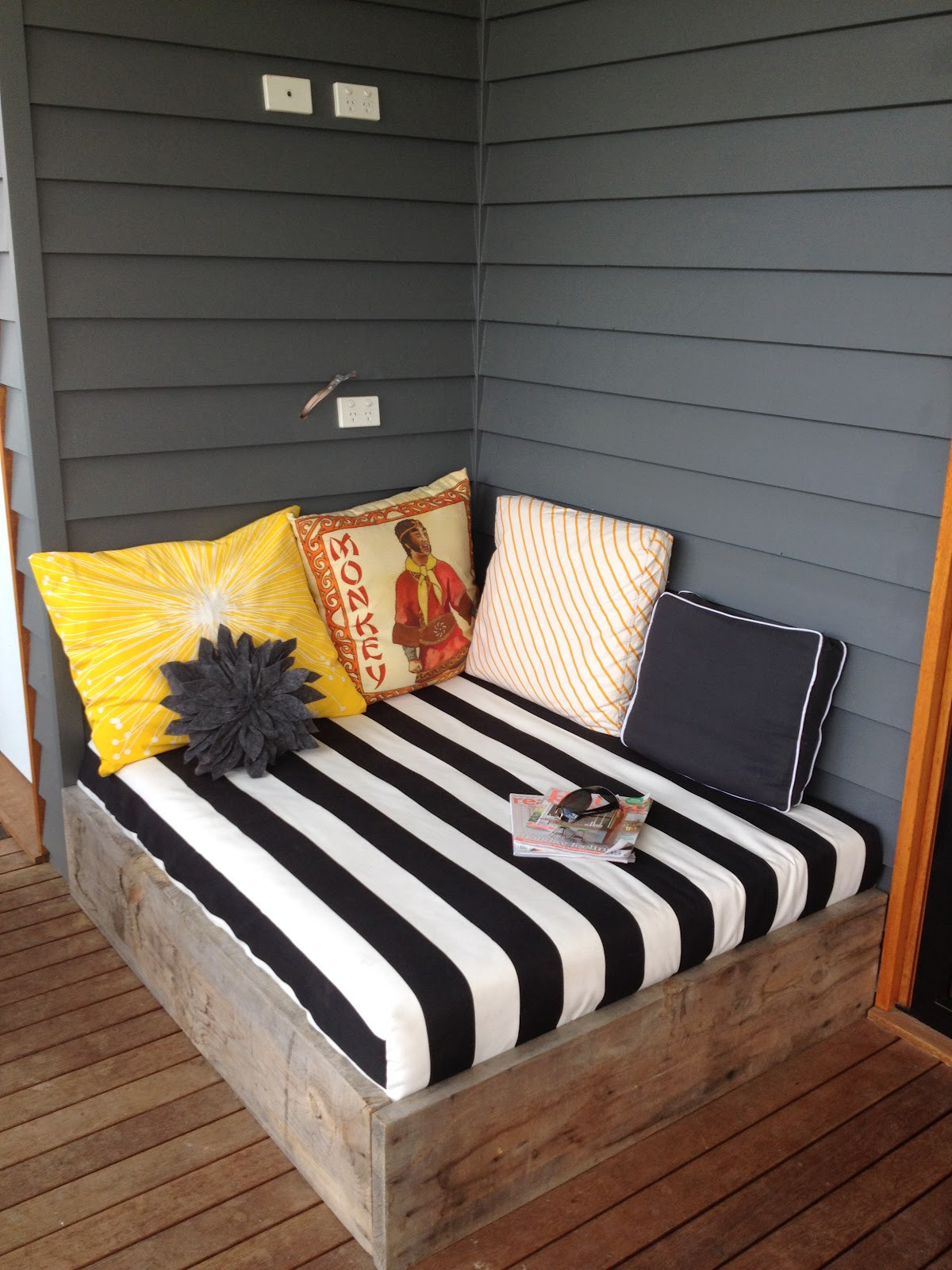 Best ideas about DIY Outdoor Daybed . Save or Pin apprentice extrovert DIY Outdoor Day Bed Reveal Now.