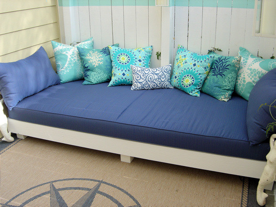 Best ideas about DIY Outdoor Daybed . Save or Pin California Livin Home DIY OUTDOOR PROJECT REVEALED Now.