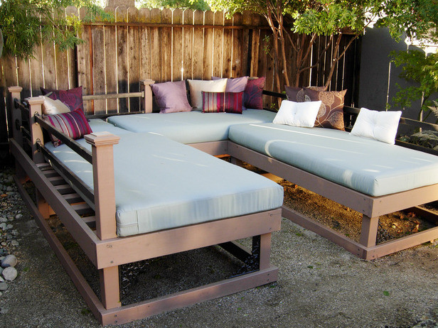 Best ideas about DIY Outdoor Daybed . Save or Pin Pergolas and Other Outdoor Structures Now.