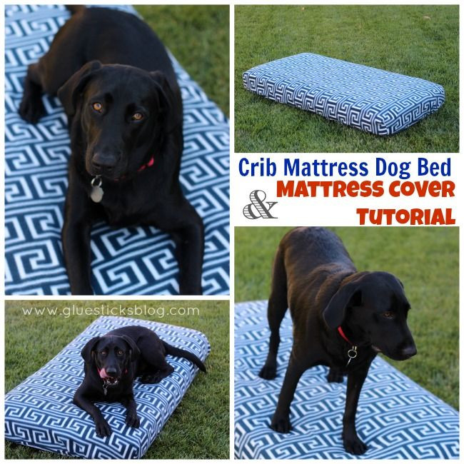 Best ideas about DIY Outdoor Dog Bed . Save or Pin DIY Dog Bed Made from a Crib Mattress with DIY Fleece Now.