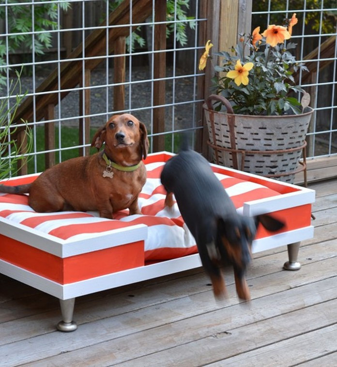 Best ideas about DIY Outdoor Dog Bed . Save or Pin 20 Cool Outdoor Dog Beds that Are Also fortable Now.