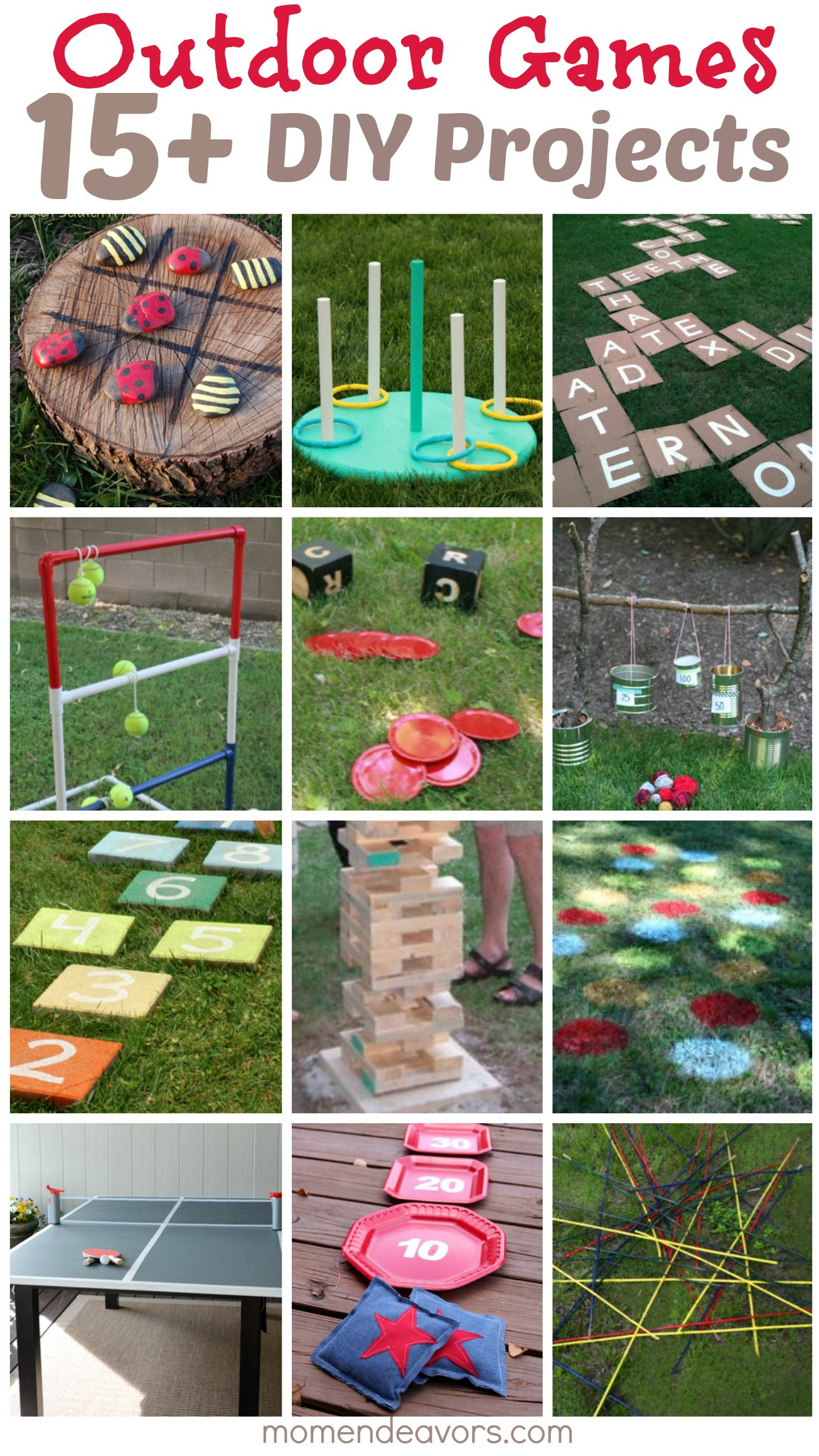 Best ideas about DIY Outdoor Games . Save or Pin DIY Outdoor Games – 15 Awesome Project Ideas for Backyard Now.