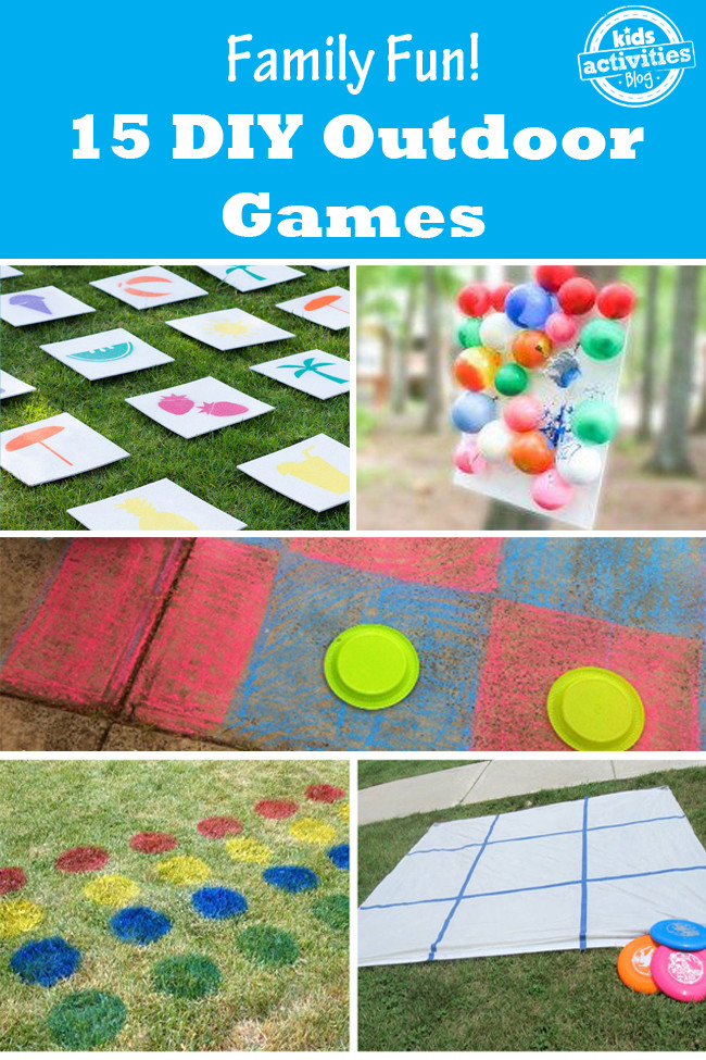 Best ideas about DIY Outdoor Games . Save or Pin 15 Outdoor Games that are Fun for the Whole Family Now.