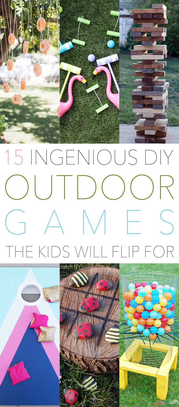 Best ideas about DIY Outdoor Games For Kids . Save or Pin 15 Ingenious DIY Outdoor Games The Kids Will Flip For Now.