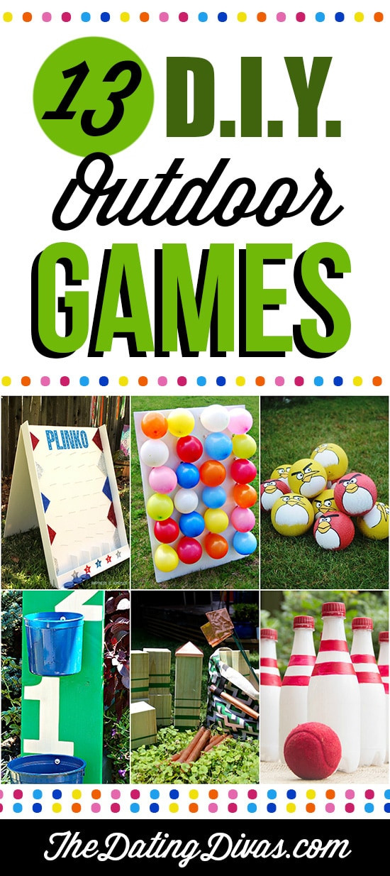 Best ideas about DIY Outdoor Games . Save or Pin Fun Outdoor Games For The Entire Family The Dating Divas Now.