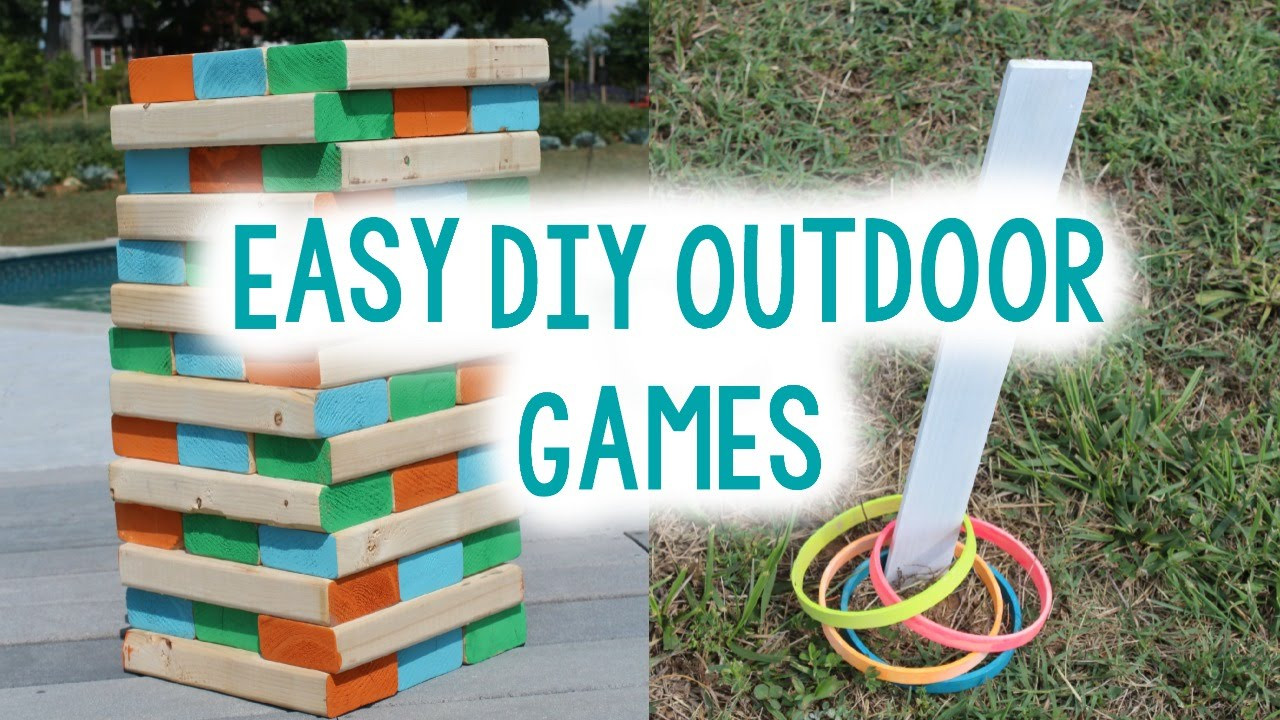 Best ideas about DIY Outdoor Games . Save or Pin DIY OUTDOOR GAMES FOR SUMMER Now.