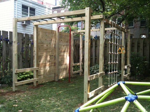 Best ideas about DIY Outdoor Gym . Save or Pin How To Make Your Own Jungle Gym Backyard Design And Decor Now.